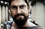Leonidas, king of Sparta, as portrayed by Gerard Butler in the film 300. Pic copyright: Warner Bros