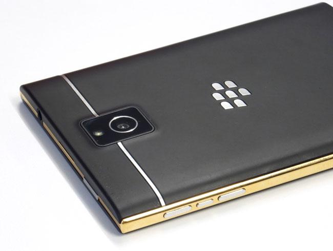 Gold Plate My BlackBerry Passport