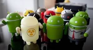 Android icon desktop toys