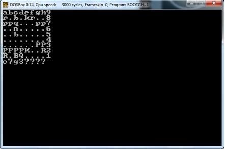 Boot Chess screen shot