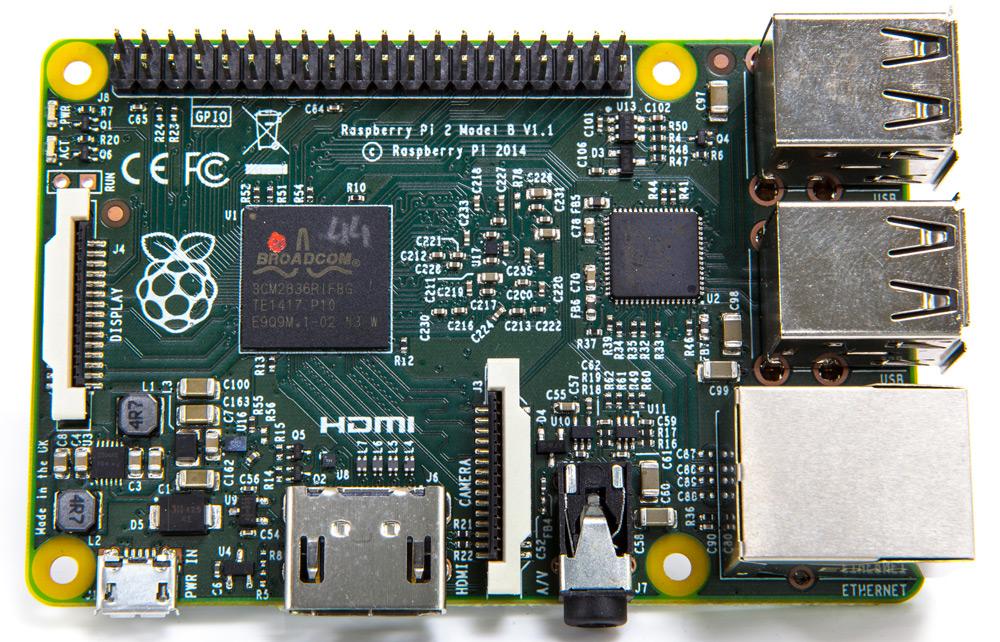 Raspberry Pi 2 Model