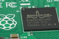 The Broadcom BCM2836 chip in the new Pi 2