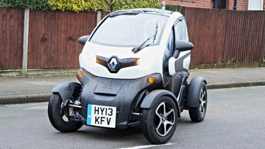 Renault Twizy by Simon Rockman