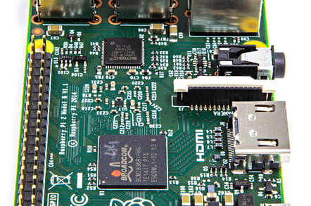 Raspberry Pi 2 mainboard