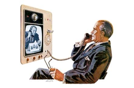 Hughes Products 1960s videophone concept