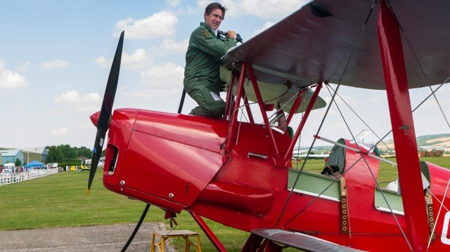 Fear Of Landing Tiger Moth review