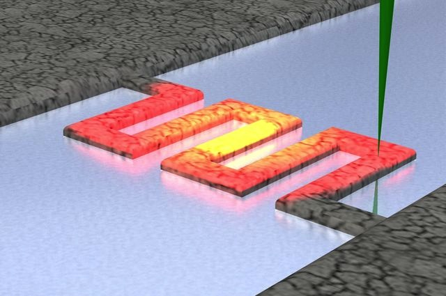 Nano heat mapping at UCLA