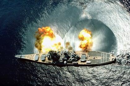 US_Iowa_firing