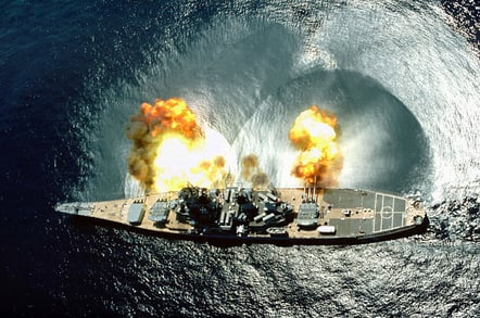 US_Iowa_firing
