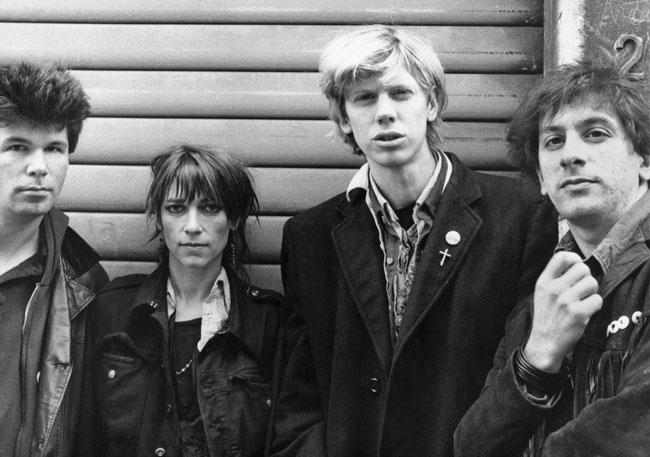 Sonic Youth, photo courtesy of Tom van Gool
