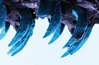 A close up at atomic level of limpits' teeth. Image via Portsmouth University