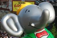 Babar the Elephant. Pic: Brendan Adkins