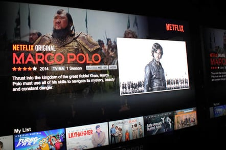 Marco Polo in 4K on Netflix
