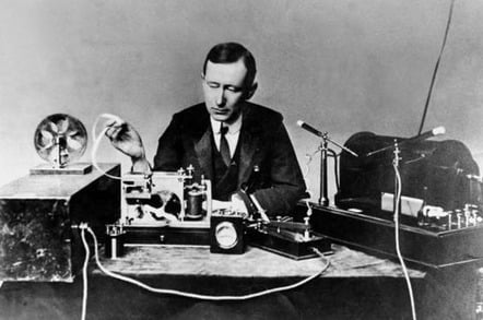 Marconi and transmission equipment