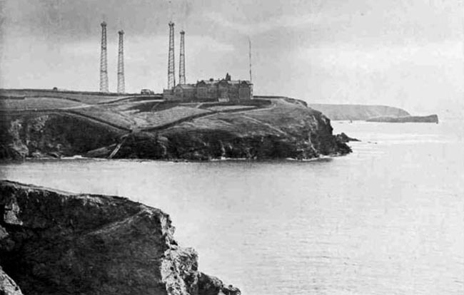 Poldhu Cove and transmitters