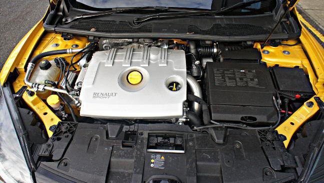 Megane Renaultsport 275 engine. Pic: Simon Rockman