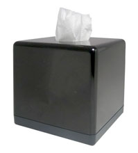 Tissue box with night vision