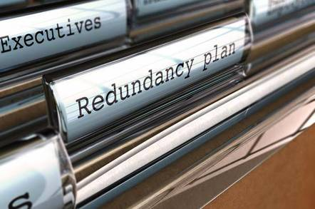 "Files in manager's desk drawers: manila folder marked ""Redundancies"". Image via shutterstock"