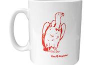 Vulture Central vulture mug
