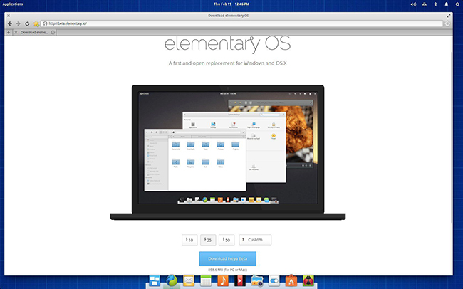 Elementary OS new payment options