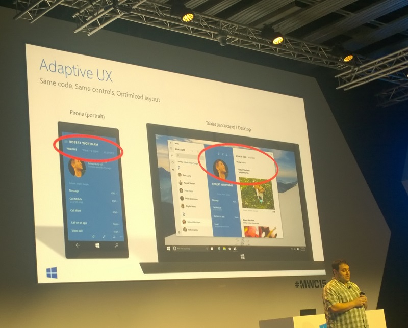 Microsoft's Kevin Gallo unveils the Adaptive UX