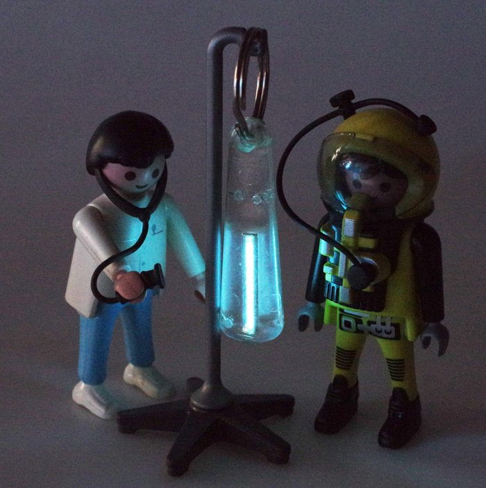 Our Playmonaut and the original Traser GlowRing