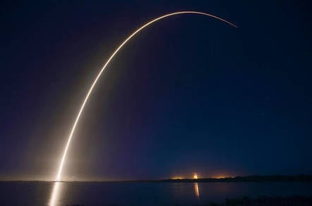SpaceX launches electric satellites into orbit