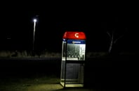 Telstra phone booth by Ed Dunens from Flickr https://www.flickr.com/photos/blachswan/