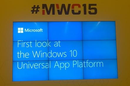 First look at Windows 10 Universal App Platform
