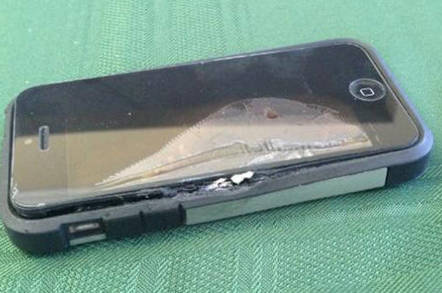 Exploded iPhone