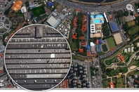 Digital Globe's 30cm satellite imagery vs. 70cm snaps