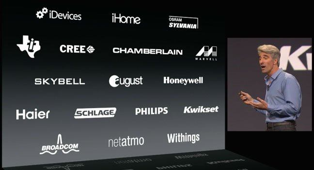 Apple HomeKit announced at WWDC June 2014