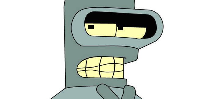 Bender the robot, Futurama