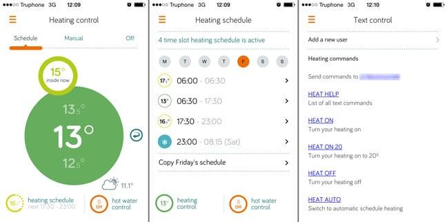 British Gas Hive app