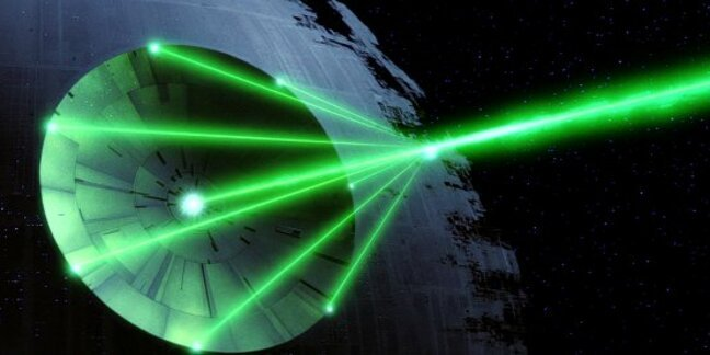 Death Star cannon