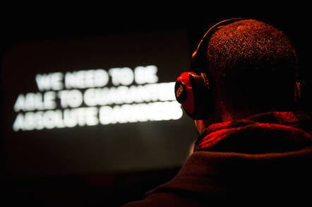 Fiction at the Battersea Arts Centre. Pic credit: Alex Brenner