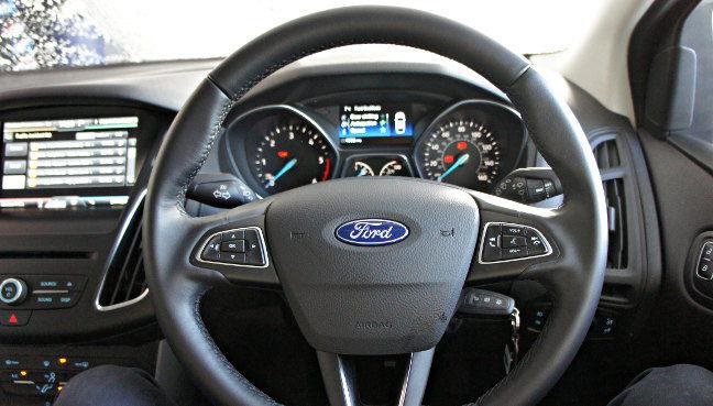 Ford Focus Steering Wheel Pic Simon Rockman