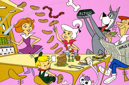 The Jetsons Food Machine