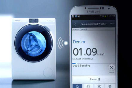 Samsung WW9000 series smart washing machine