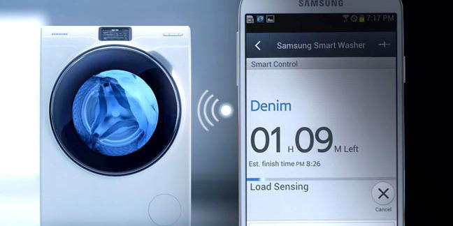 Samsung WW9000 series smart washing machine