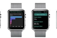 Salesforce's Analytics Cloud on Apple Watch