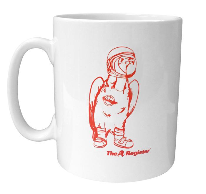 The LOHAN Vulture mug
