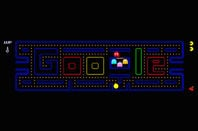 Pac-Man Google game (taken from Google home page on anniversary of Pac-Man )