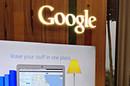 Google HQ logo. Pic: Bob Dormon