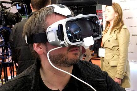 Samsung Gear VR headset needs a Samsung phone