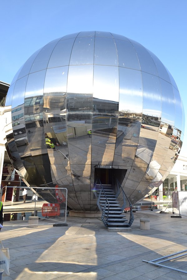 Exterior shot of At-Bristol Planetarium
