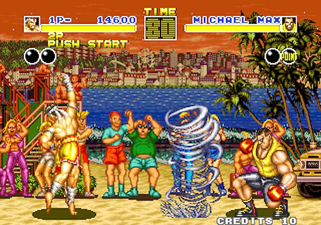 Fatal Fury throws a whirlwind