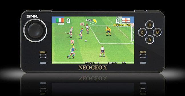 Fun times on the Neo Geo X portable