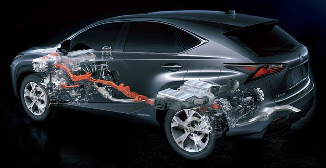 Lexus NX300h hybrid SUV