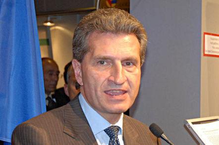 Gunther Oettinger, EU digital commissioner. Pic: Götz A. Primke
